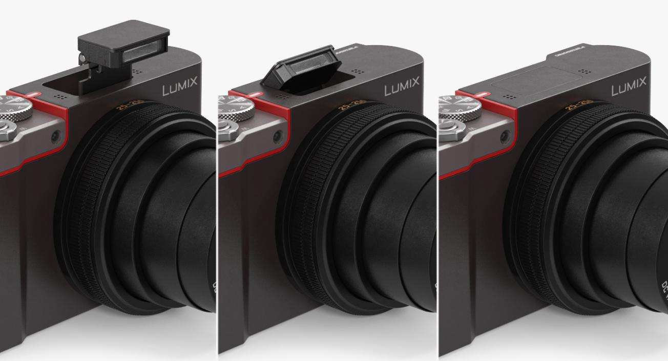 3D model Digital Camera Panasonic ZS100