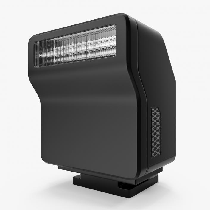 3D Compact Speedlight model