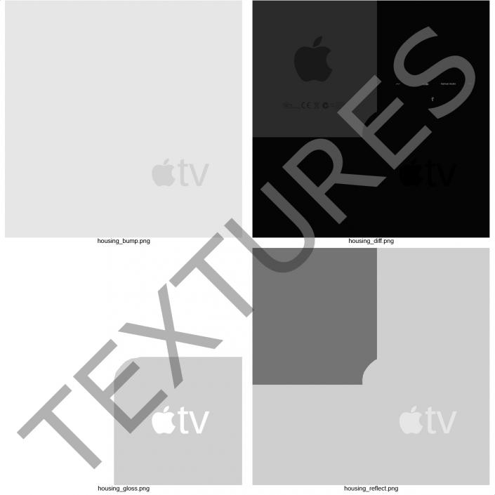 3D model Apple TV