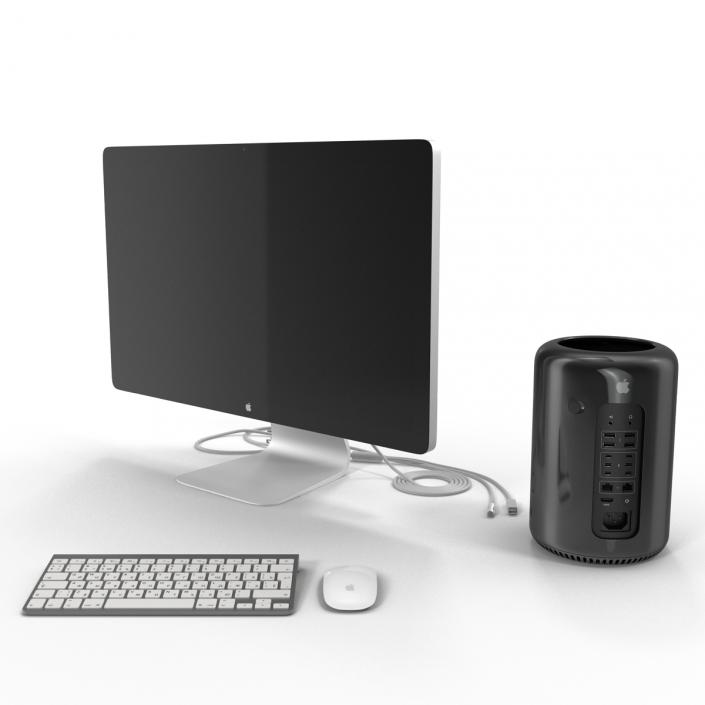 Apple Mac Pro Collection 3D model