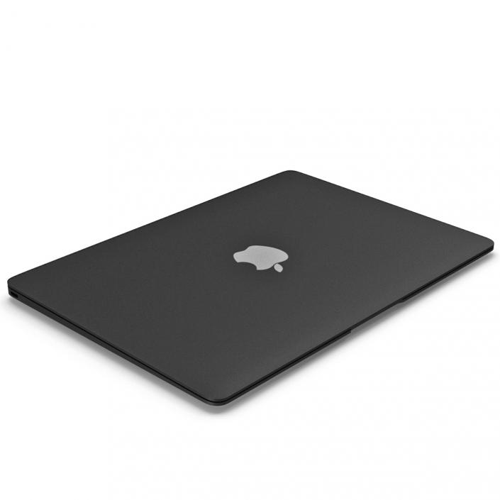 3D Apple MacBook Pro Black model