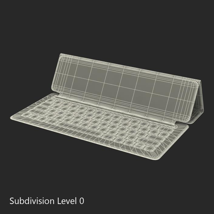 Apple Smart Keyboard Rigged 3D
