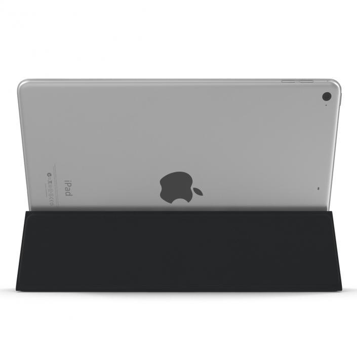 3D Ipad Pro and Apple Smart Keyboard model