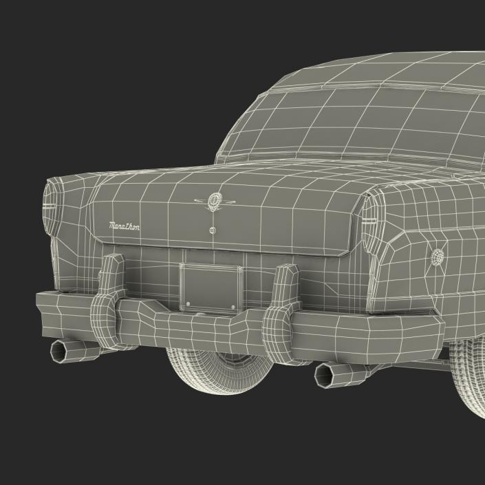 Checker Taxicab 1982 Rigged 3D