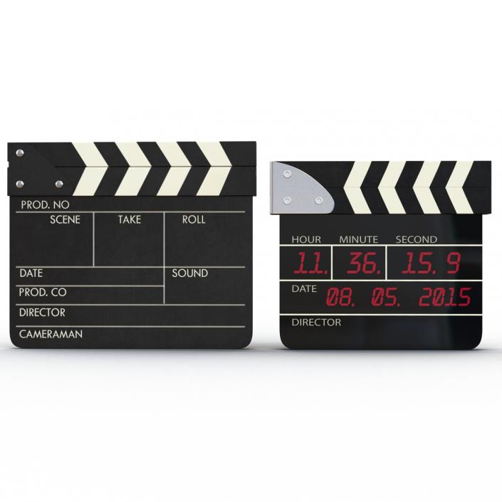 3D Clapboards Collection
