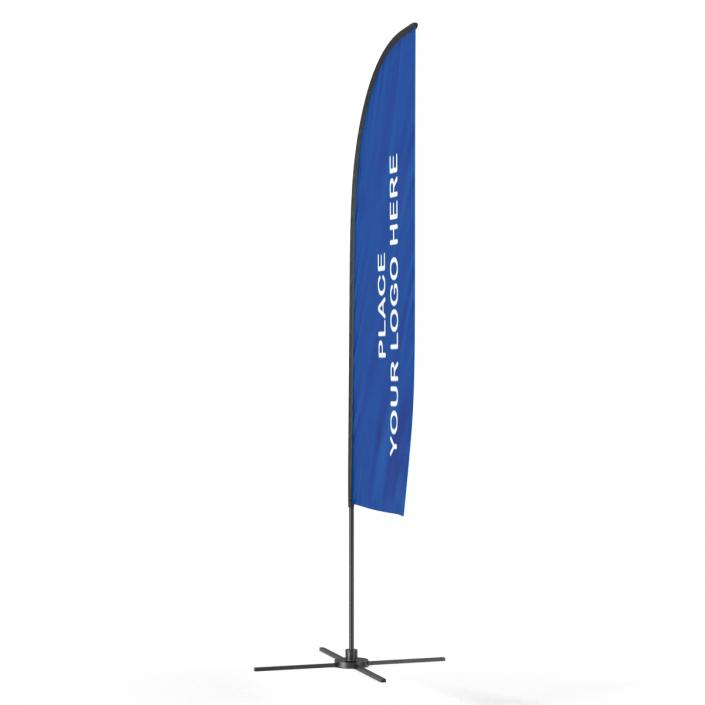 Banner Stand 4 Generic 3D
