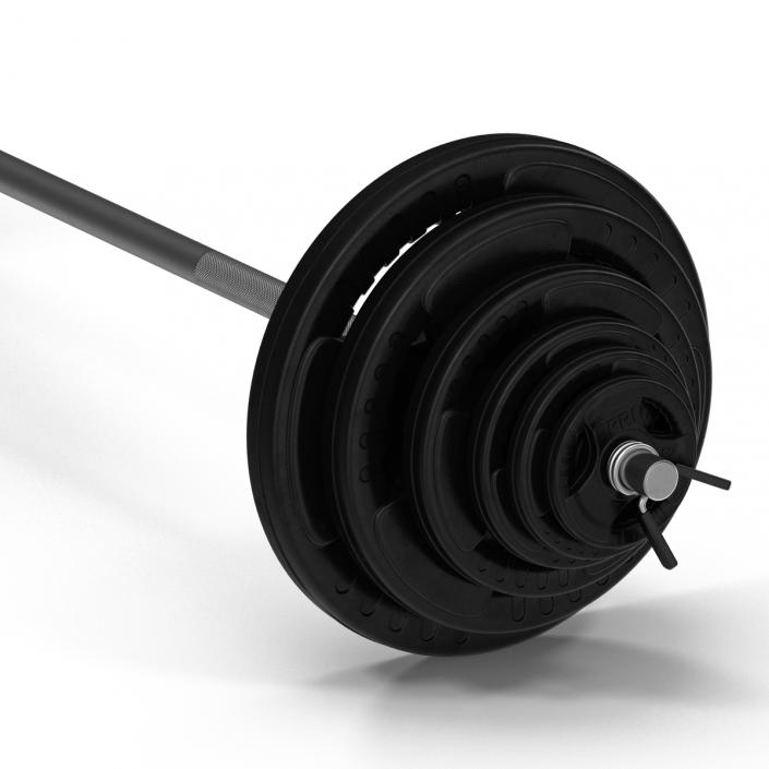 3D model Barbell and Plates 2