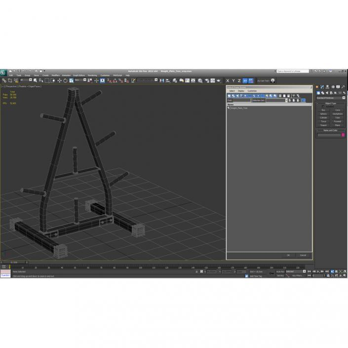 Weight Plate Tree 3D
