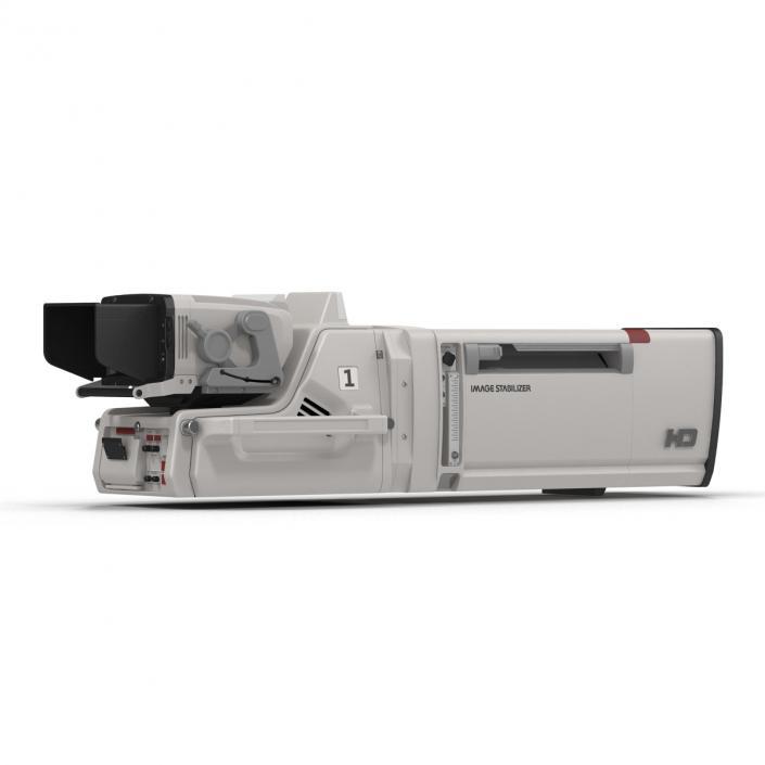 HD Studio Camera Generic 3D model