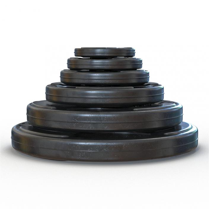 Barbell Plates Collection 2 3D