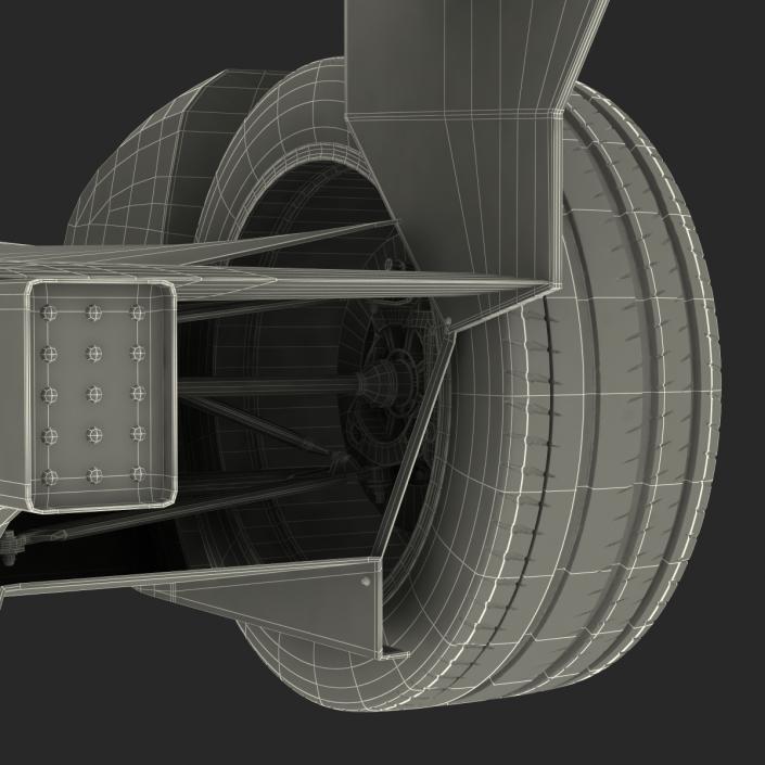 Formula E Race Car ABT 3D