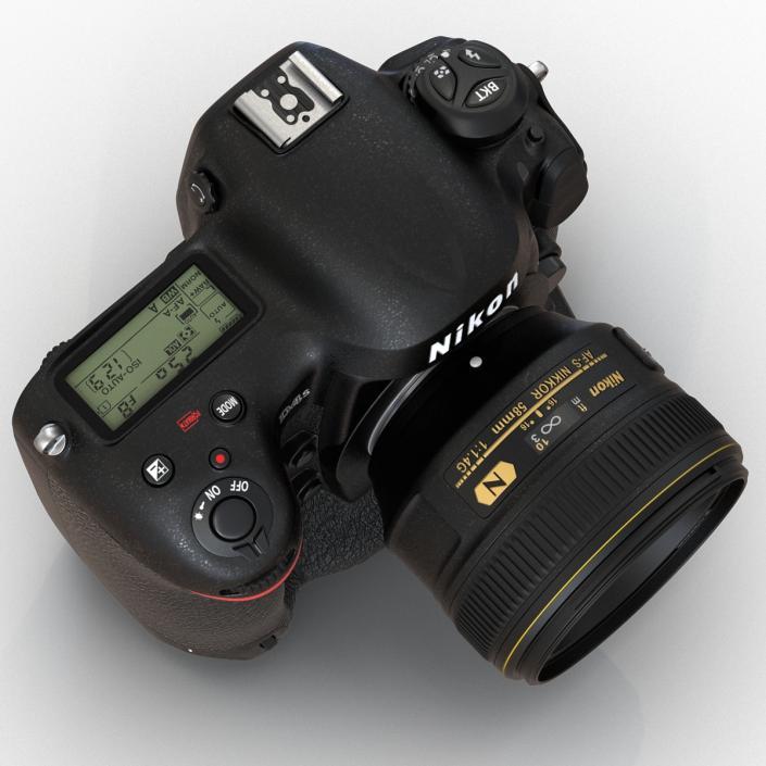 Nikon D4S 3D model
