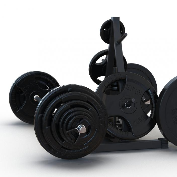3D Barbells Collection 2