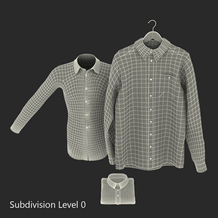 Shirts Collection 3D