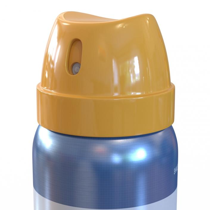 Metal Bottle With Sprayer Cap Generic 3D